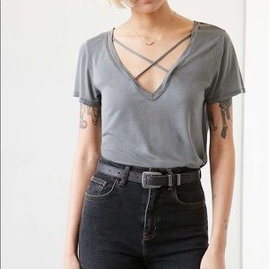 Project Social T x UO Karlie Cross Front Tee